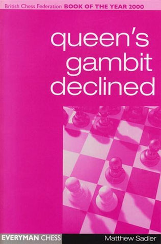 Queen's Gambit Declined - Sadler - Book - Chess-House