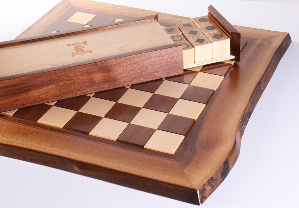 enjoyable ideas cheap chess sets. Raphael Design Live Edge Chess Set House  enjoyable design unique The Best 100 Enjoyable Unique Pieces Image Collections