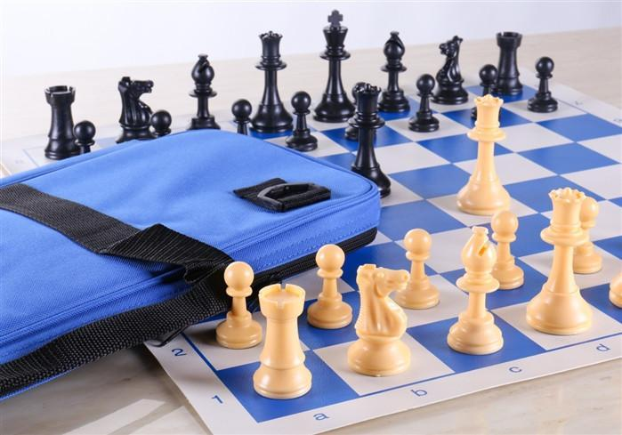 Regulation Chess Set - Blues