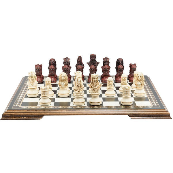 Richard the Lionheart Chess Pieces - SAC Antiqued - Piece - Chess-House