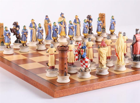 Richard The Lionheart Chess Set - Chess Set - Chess-House