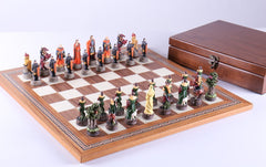 Robin Hood Chess Set with Storage - Chess Set - Chess-House