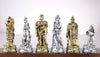 Roman Gladiators Chess Pieces Piece