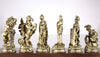 Roman Gladiators Chess Pieces Chess Set