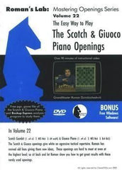 Roman's Lab #22, The Easy Way to Play the Scotch and Giuoco Piano (DVD) - Software DVD - Chess-House