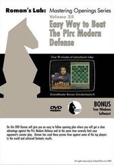 Roman's Lab #25, Easy Way to Beat the Pirc Modern Defense (DVD) - Software DVD - Chess-House