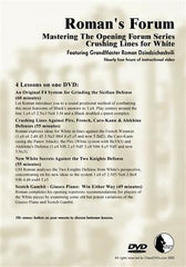 Roman's Lab #33: Mastering The Opening Forum: Part 5 Crushing Lines for White - Software DVD - Chess-House