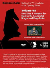 Roman's Lab #45: New Lines & Novelties for Black in the Accelerated Dragon and Kings Indian Defense - Software DVD - Chess-House