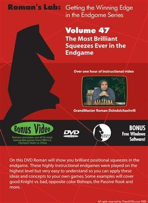 Roman's Lab #47: The Most Brilliant Squeezes Ever in the Endgame - Software DVD - Chess-House