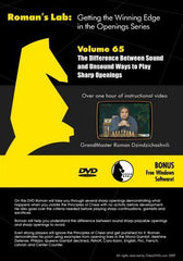 Roman's Lab #65 - Getting the Winning Edge in the Openings Series - Software DVD - Chess-House