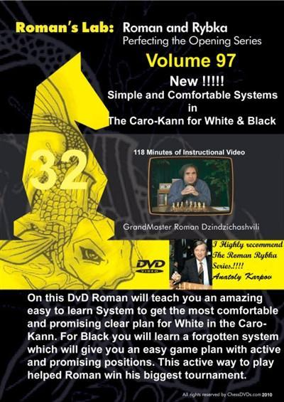 Roman's Lab #97 - Comfortable Systems in the Caro-Kann - Software DVD - Chess-House