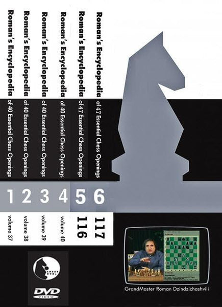 Roman's Lab: Encyclopedia of 47 Essential Chess Openings Series - Software DVD - Chess-House
