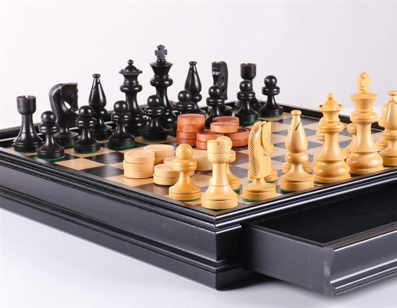 Russian Style Chess & Checkers Set