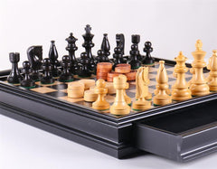 Russian Style Chess & Checkers Set - Chess Set - Chess-House