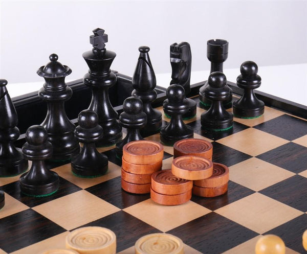 Russian Style Chess Amp Checkers Set Chess House