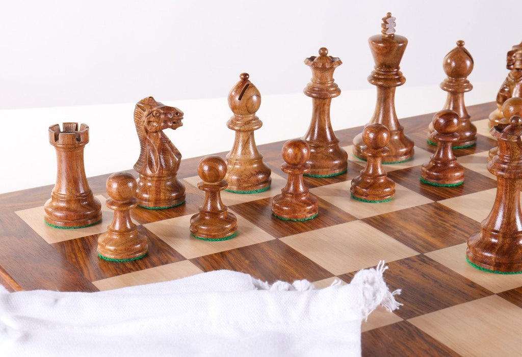 Rustic Cabin Chess Set Combo   Chess Set   Chess House