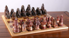 Sanfilippo Chess Set Number XXVI - Dragon Slayers - Chess Set - Chess-House