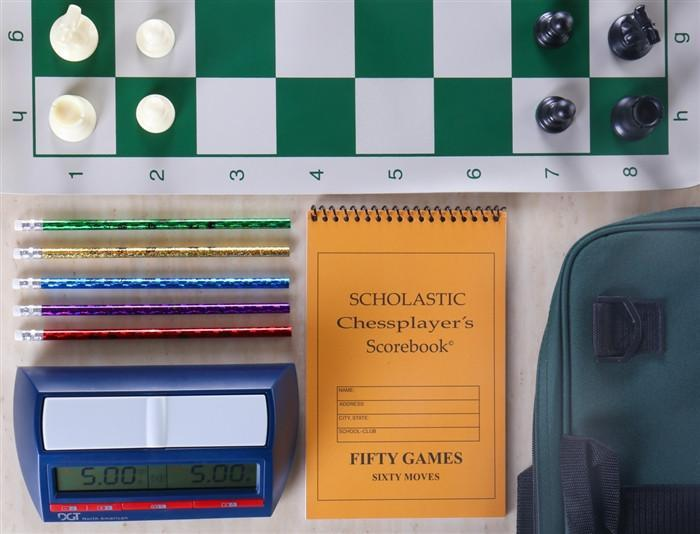 Scholastic Chess Gear Combo