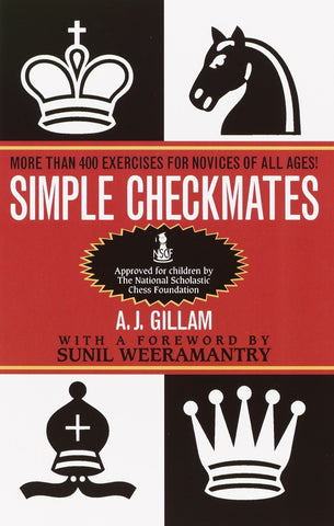 Simple Checkmates - Gilliam - Book - Chess-House