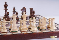 "SINGLE REPLACEMENT PIECES: 16"" Jowisz Wooden Chess Set Piece"