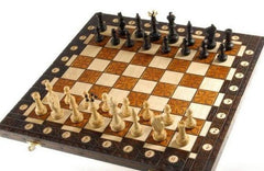 "SINGLE REPLACEMENT PIECES: 20"" Polish Chess Set Piece"