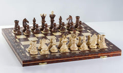 "SINGLE REPLACEMENT PIECES: 20"" Royal Wooden Chess Set Piece"