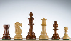 "SINGLE REPLACEMENT PIECES: 3 3/4"" Club Series Wood Chess Pieces - Golden Rosewood Piece"