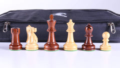 "SINGLE REPLACEMENT PIECES: 3 5/8"" Ultimate Wood Chess Pieces in Anjanwood Piece"