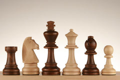 "SINGLE REPLACEMENT PIECES: 3 7/8"" Standard Staunton Chess Pieces #7 Piece"
