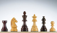 "SINGLE REPLACEMENT PIECES: 3.75"" Championship Series Chess Pieces - Rosewood Piece"