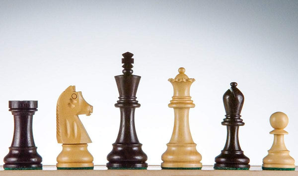 "SINGLE REPLACEMENT PIECES: 3.75"" Scout Chess Pieces - Rosewood Piece"