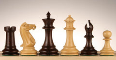 "SINGLE REPLACEMENT PIECES: 4"" Executive Chessmen - Rosewood Piece"