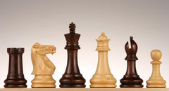 "SINGLE REPLACEMENT PIECES: 4"" Rosewood Chess Pieces Piece"