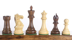 "SINGLE REPLACEMENT PIECES: 4"" Staunton Style Kikkerwood Chessmen - Parts - Chess-House"