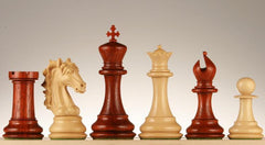 "SINGLE REPLACEMENT PIECES: 5"" Fiero Caballero Chess Pieces - Rosewood Piece"