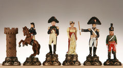 SINGLE REPLACEMENT PIECES: Battle of Waterloo Poly Chessmen Piece