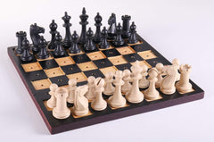 SINGLE REPLACEMENT PIECES: Chess Set for the Blind - 3.25 inch King Piece