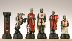 SINGLE REPLACEMENT PIECES: Crusades Chessmen Piece