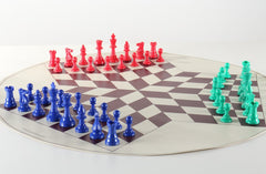 SINGLE REPLACEMENT PIECES: Large 3 Player Chess Set Piece