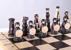 SINGLE REPLACEMENT PIECES: Large Magnat Style Chess Set With Storage - Parts - Chess-House