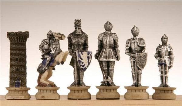 SINGLE REPLACEMENT PIECES: Medieval Times Chess Pieces III - Piece - Chess-House