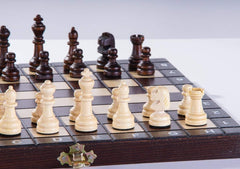 "SINGLE REPLACEMENT PIECES: School Chess - 10.5"" Wood Chess Set Piece"