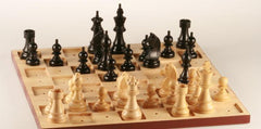 SINGLE REPLACEMENT PIECES: Wooden Chess Set for the Blind - 3.75 inch King Piece