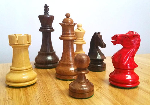 Single Standard Wood Chess Pieces - Piece - Chess-House
