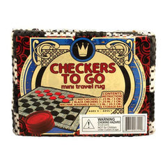 Small Checkers Rug - Checkers - Chess-House