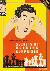 SOS Secrets of Opening Surprises 3 - Bosch - Book - Chess-House