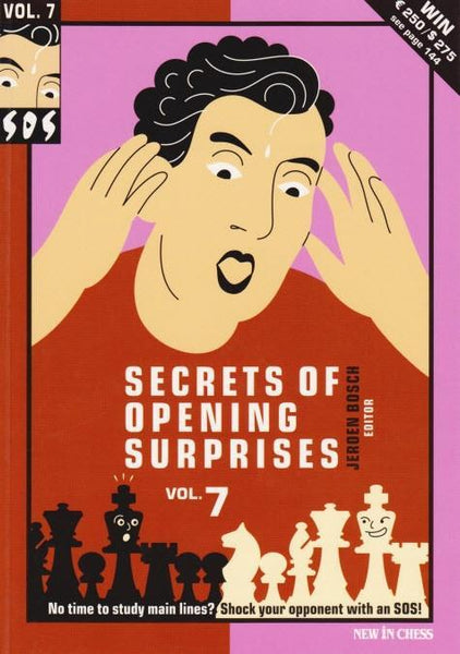 SOS Secrets of Opening Surprises 7 - Bosch - Book - Chess-House