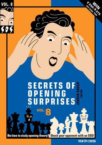 SOS Secrets of Opening Surprises 8 - Bosch - Book - Chess-House