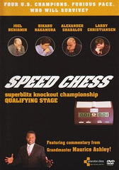 Speed Chess DVD, Knockout Championship - Movie DVD - Chess-House