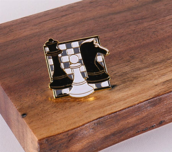 Square Chess Pin - Accessory - Chess-House
